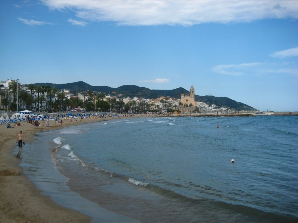 Sitges-beach-Barcelona