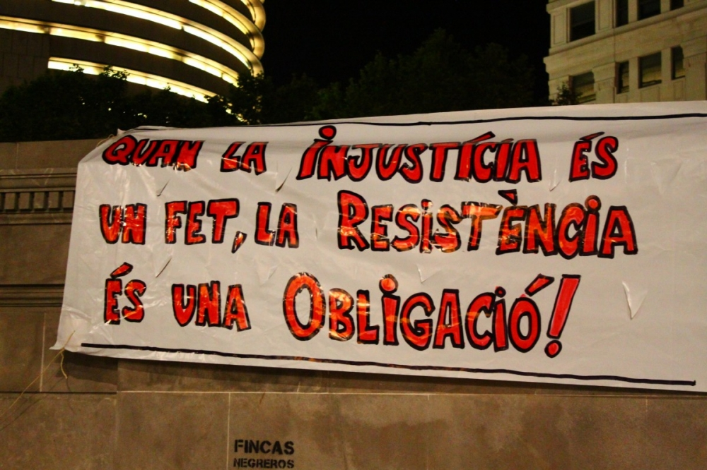 Spain's 15M Protests: Barcelona's 12M-15M Occupation