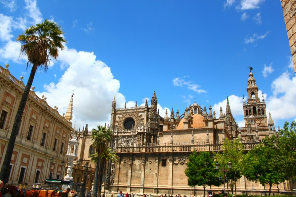 Sevilla-Spain-Cathedral-La-Giralda