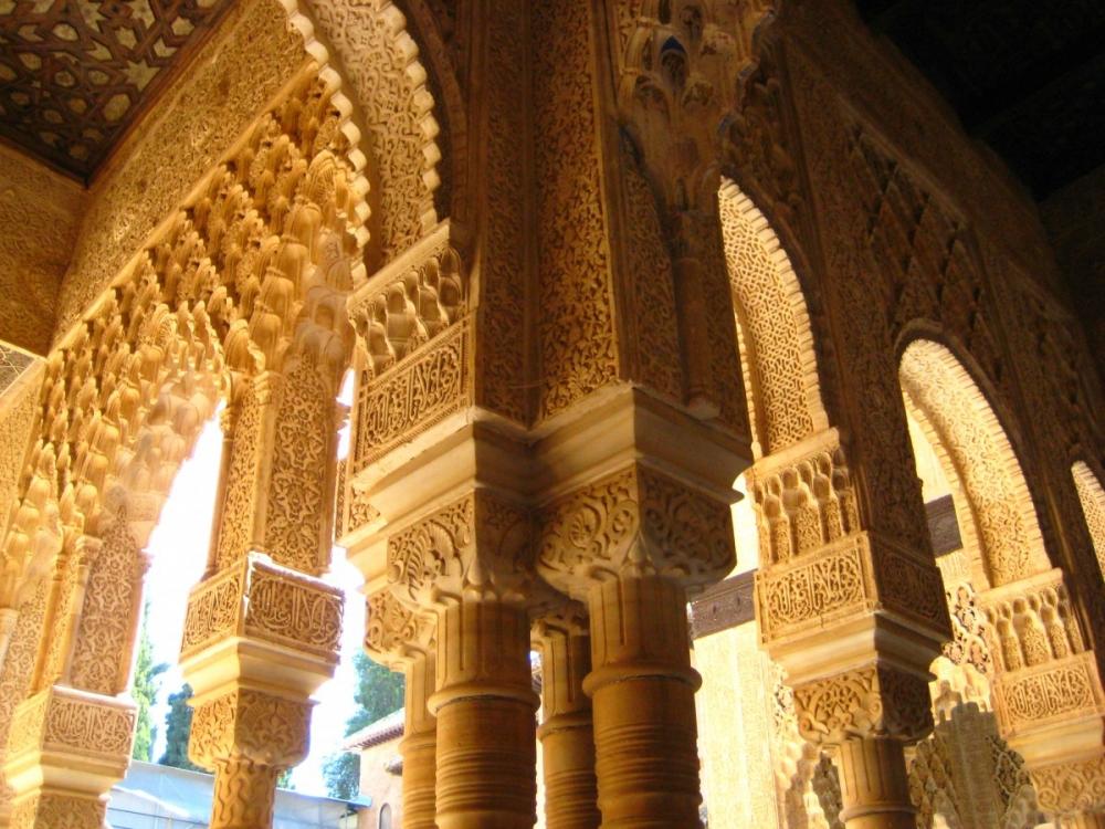 Granada-Alhambra-ceiling-Patio-de-los-Leones