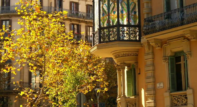 Fall in Barcelona