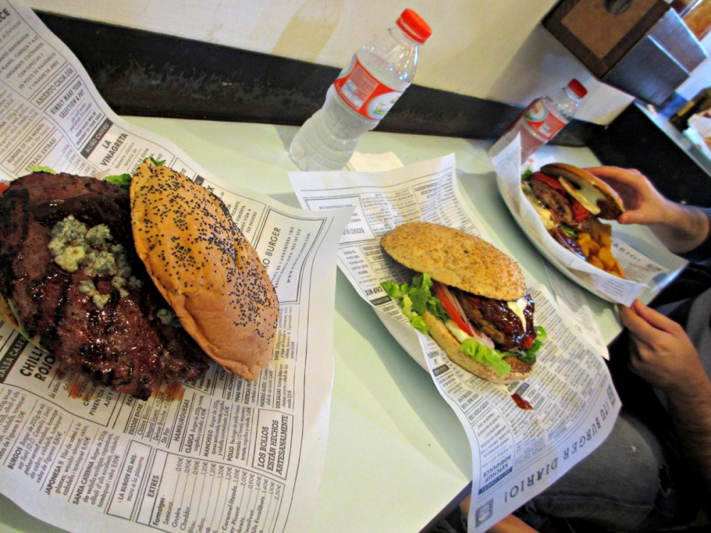 Kiosko-burger-Barcelona-food
