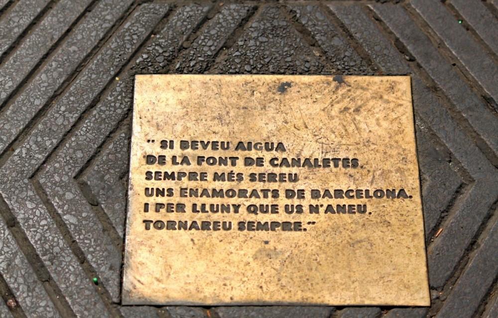 Font-de-Canaletes-Las-Ramblas-Barcelona