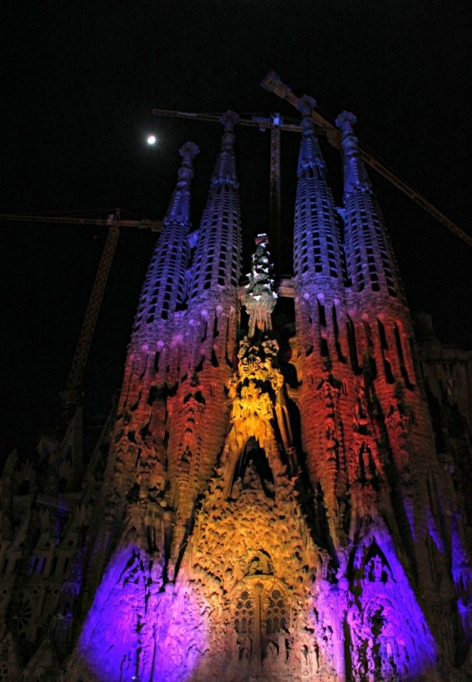 Barcelona's Pretty Christmas Decorations