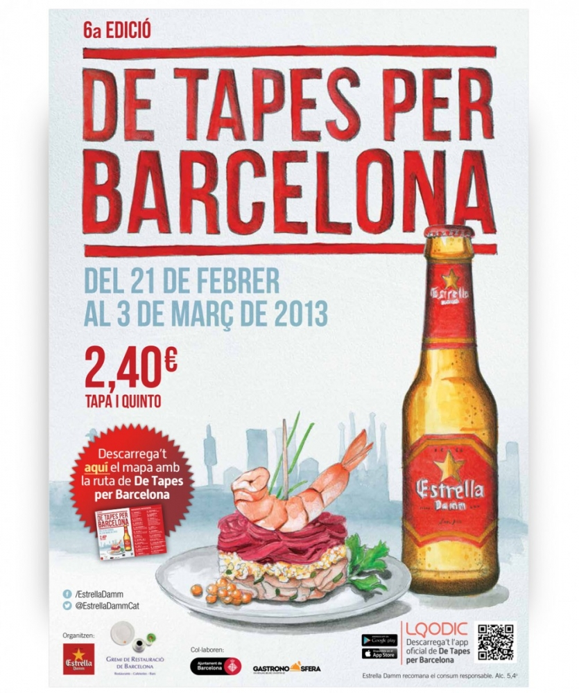 Barcelona's Best – De Tapes Per Barcelona (Tapas Route)