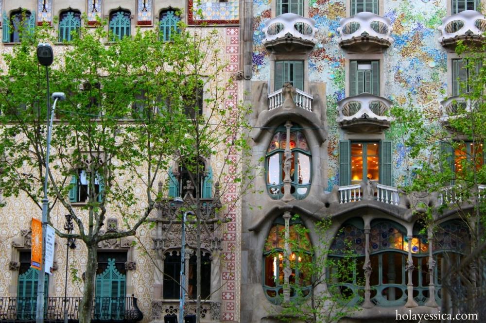 Barcelona's Passeig de Gràcia
