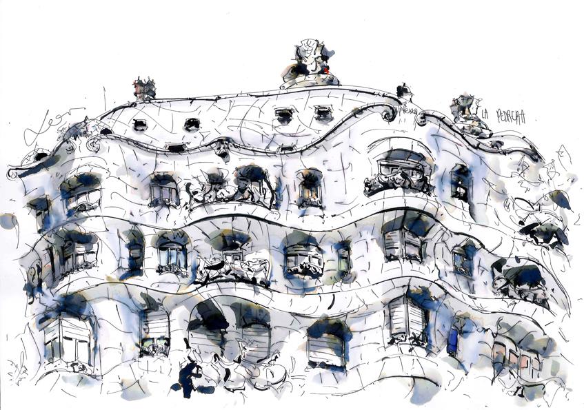 Barcelona Local Artist Xavi Julià of BarcelonInk
