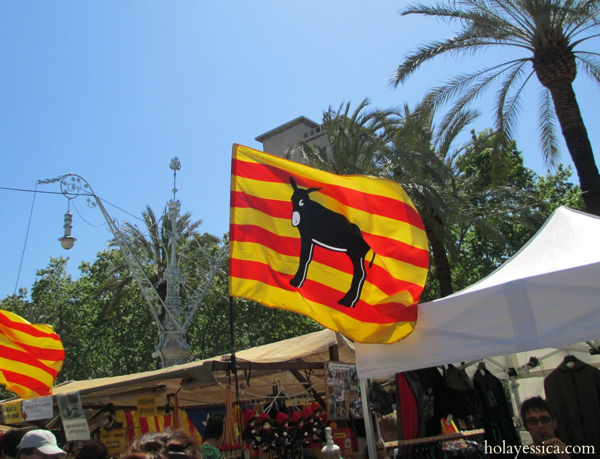 catalan-donkey-symbol-flag