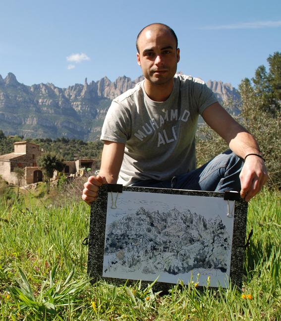 De excursión a Montserrat