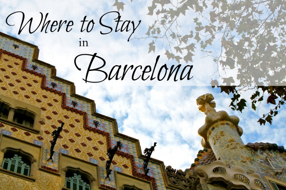 Where Should I Stay in Barcelona?