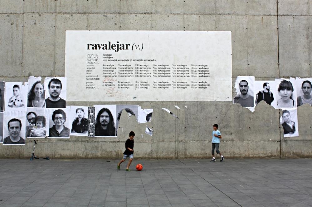 """Ravalejant"" in Barcelona's Artsy Raval Neighborhood"
