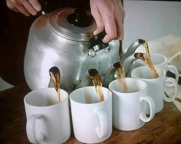 The dream! All five cups are for me, of course. (Image retrieved via Pinterest)