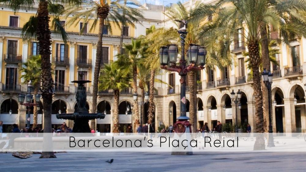 Barcelona's Plaça Reial