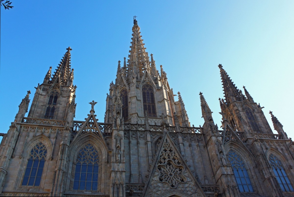The Barcelona Cathedral of LIES!