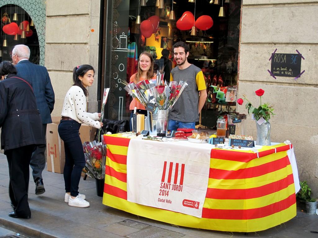 diada-de-sant-jordi-barcelona-2014-stands