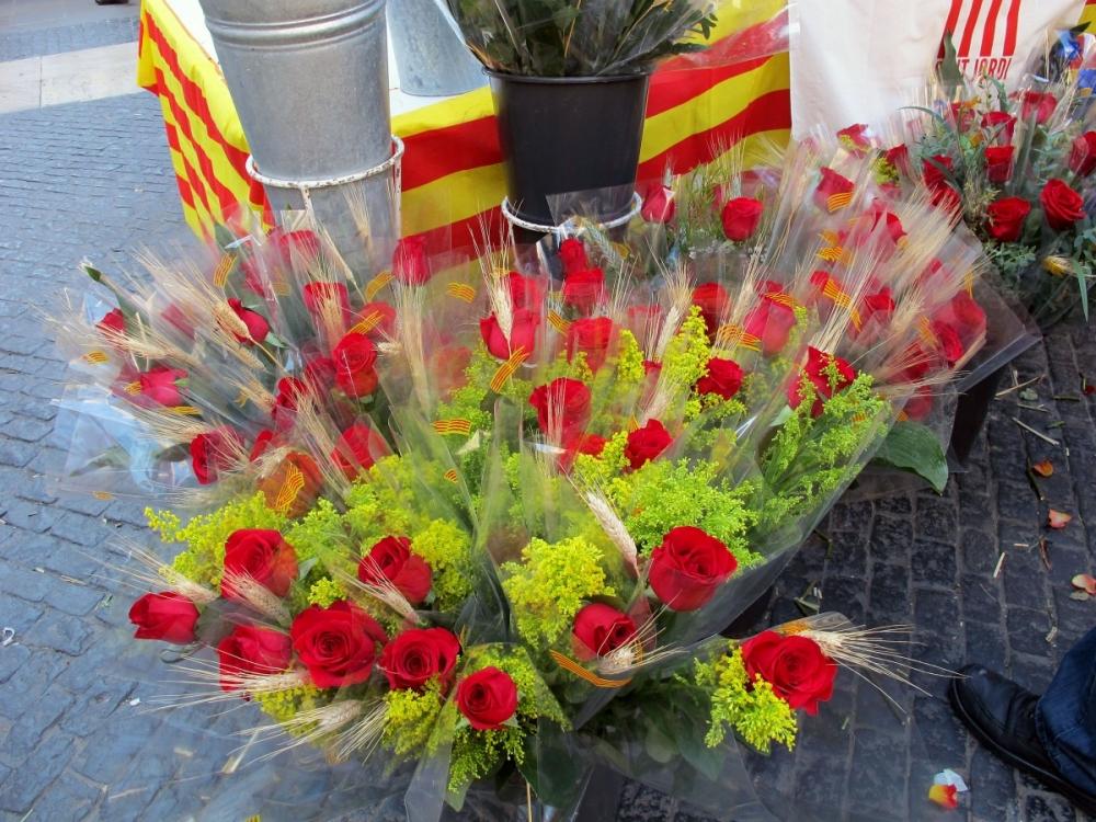 Sant Jordi – a.k.a. Catalan Valentine's Day