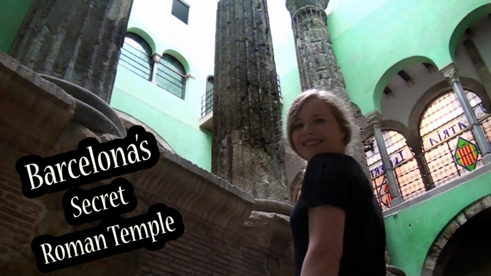 The Hidden Roman Temple in Barcelona