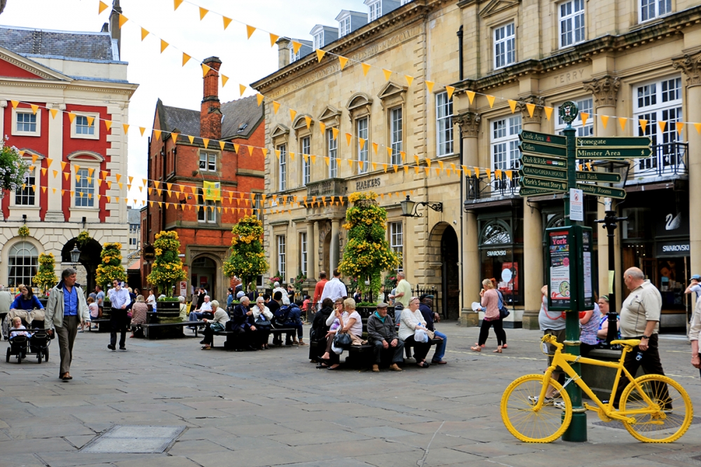 "Fairytale City York Gets Ready to ""Départ-y"" for the Tour de France"