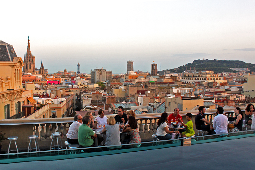 The Best Rooftop Bars In Barcelona Barcelona Blonde