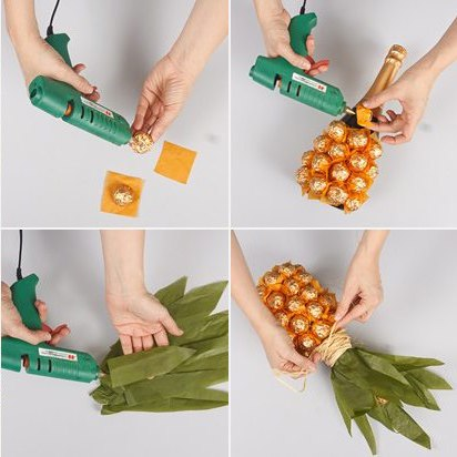 You can also make a very confusing pineapple this way, if you want. (Image retrieved via Pinterest...of course).
