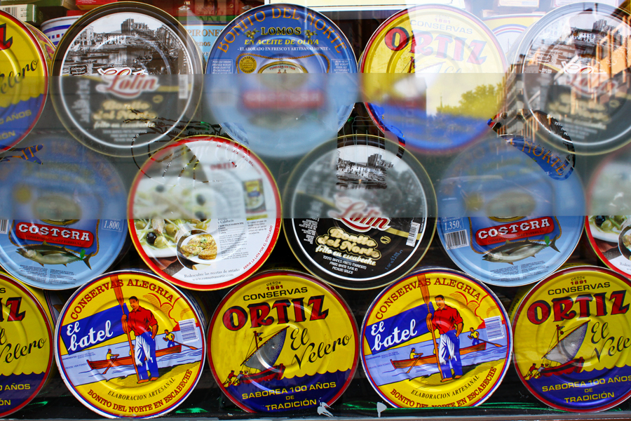 madrid-literary-quarter-canned-spanish-food