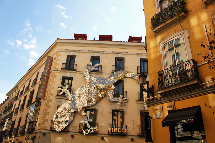 madrid-lizard-wall-art-huertas-literary-quarter