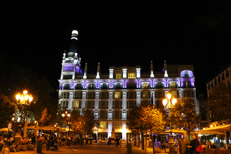 plaza-santa-ana-madrid-night