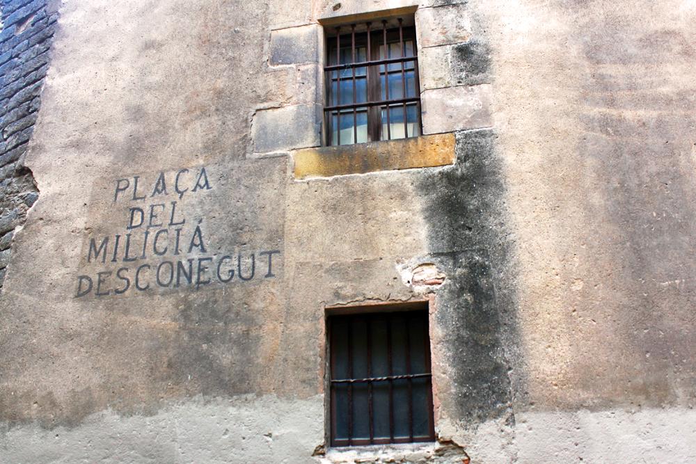 placa-del-milicia-desconegut-barcelona