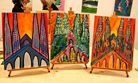Wine & Painting Comes to Barcelona