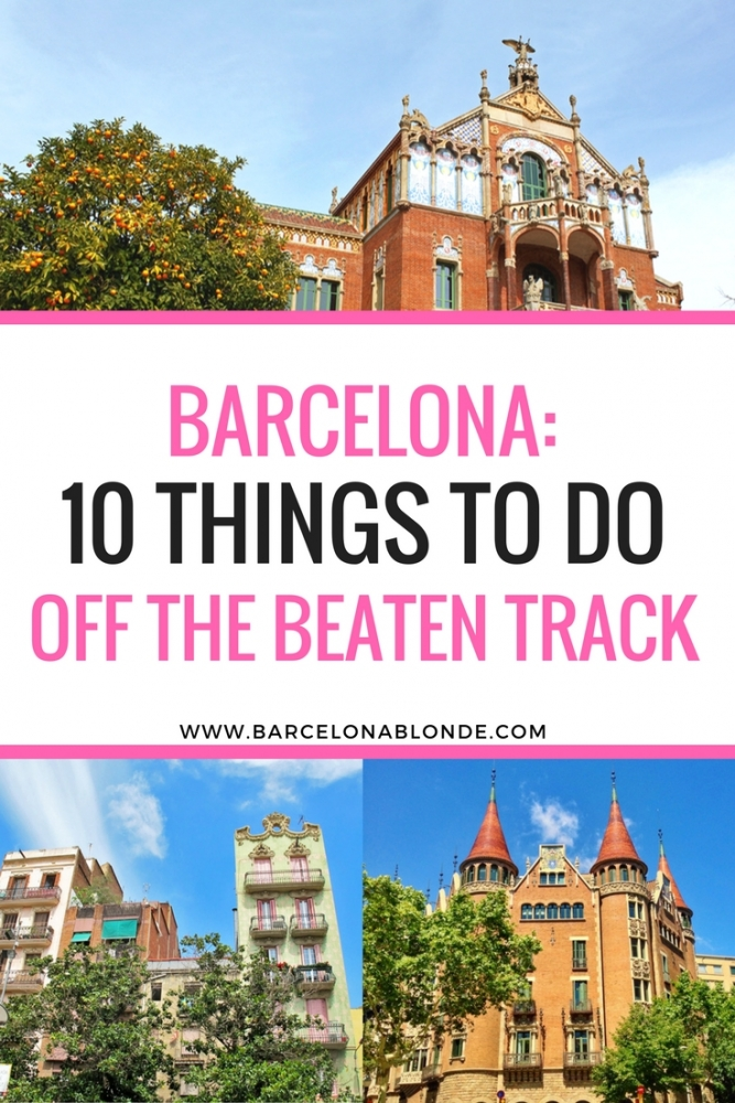 10 Non-Touristy Things to do in Barcelona: Alternatives to the Top Sights